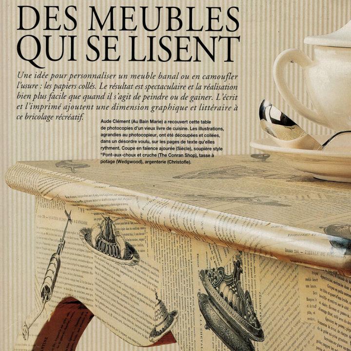Scénographie : Des meubles qui se lisent