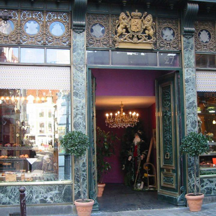 Vitrine : Boutique Méert à Lille