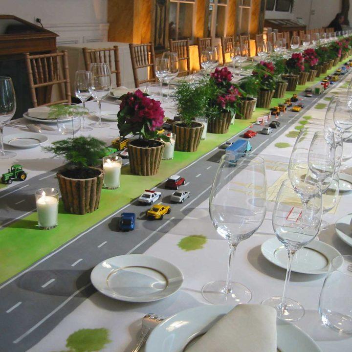 Scénographie : Déjeuner assis au musée du Carnavalet